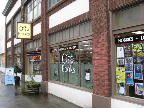 Orca Books Storefront